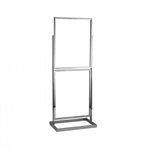 "22"" x 28"" Double Floor Standing Sign Holder 