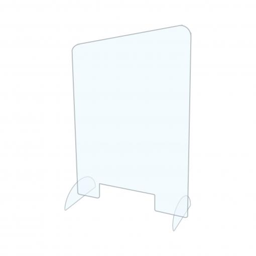 Cashier Protective Guard | Clear Acrylic