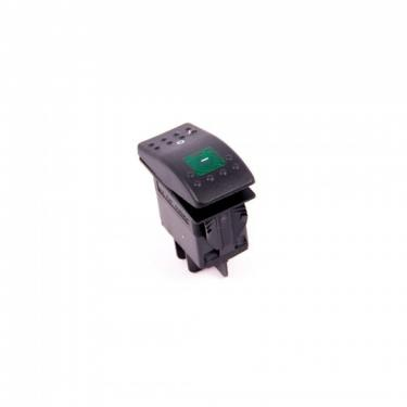 Jiffy® Green Lighted Contura Rocker Switch