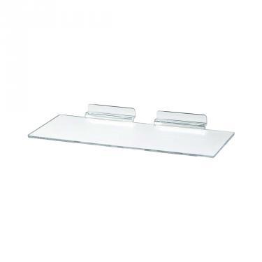 Slatwall Acrylic Flat Shelf