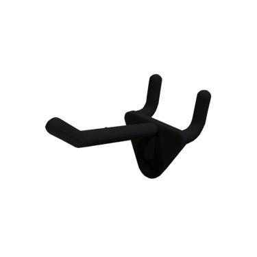 Peg Plastic Hook Black