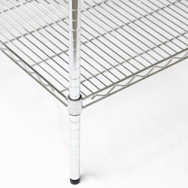 Chrome Wire Shelving Post | 34""