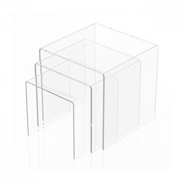 Large Acrylic Riser Set