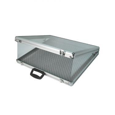 Glass Top Aluminum Brief Case