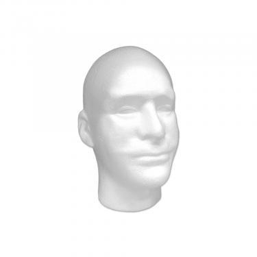 Male Styrofoam Head