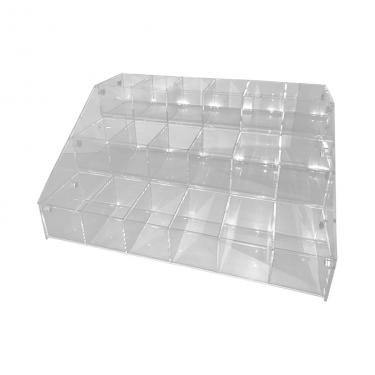 3-Tier Compartment Acrylic Tray