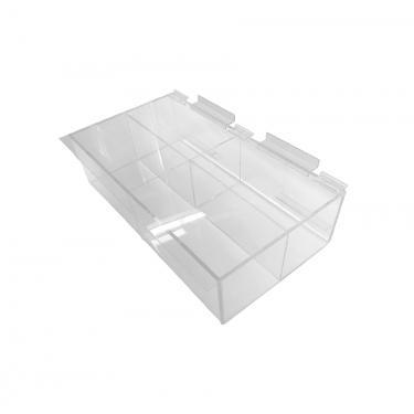 Slatwall Acrylic Compartment Box