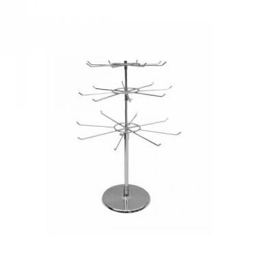 24 Peg 3-Tier Countertop Spinner
