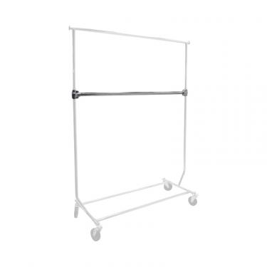 Add-On Bar for Collapsible Salesman's Rack