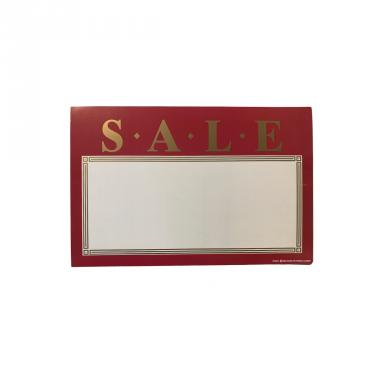 Maroon Sale Sign Pack of 100 Piece