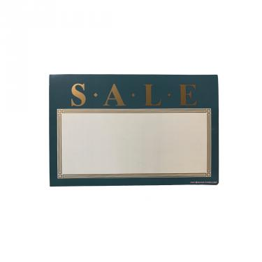 Forest Green Sale Sign Pack of 100 Piece
