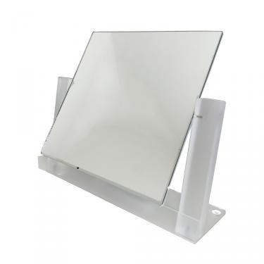 """Frosted Acrylic Countertop Mirror 