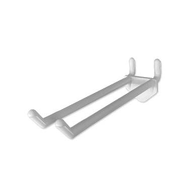 Peg Double Plastic Hook Non Loop
