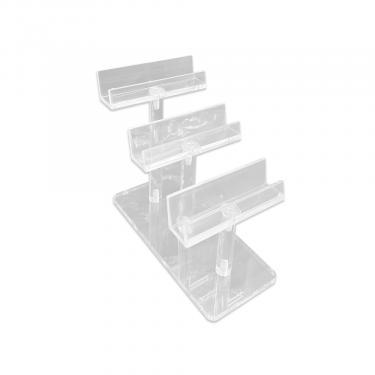 Acrylic Step Style Frame Display   3 Frame