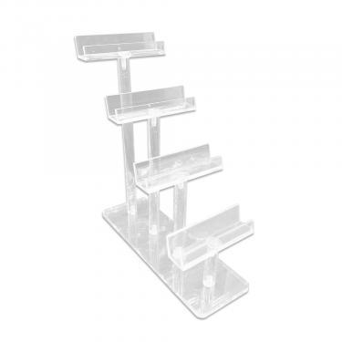 Acrylic Step Style Frame Display   4 Frame
