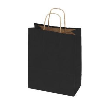 100% Recycled Kraft Bags - Black