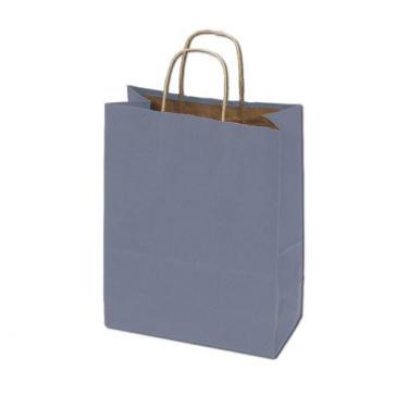 100% Recycled Kraft Bags - Metallic Silver