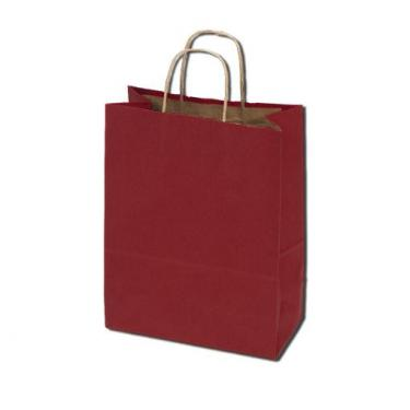 100% Recycled Kraft Bags - Red
