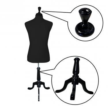 Male Suit Form Set | Black