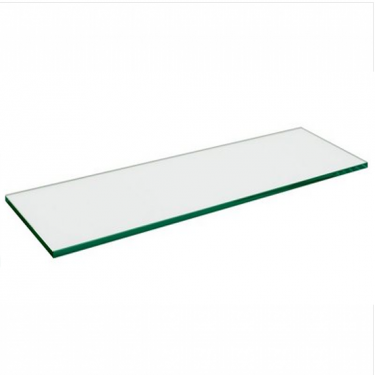 "Glass Shelf 5mm Thickness | 10"" x 48"" Tempered"