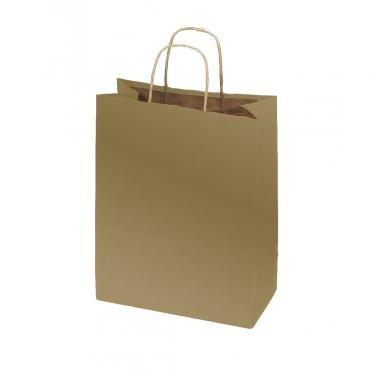 100% Recycled Kraft Bags - Metallic Gold