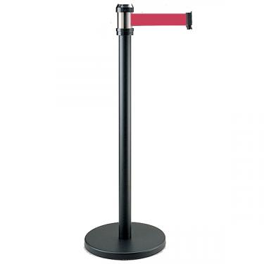 Black Stanchion - Red Belt 78""