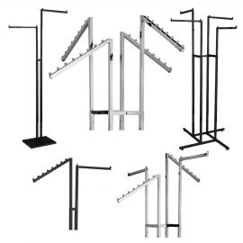 Two and Four Arm Clothing Racks