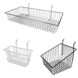 Slatwall Wire Baskets