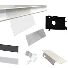 Gondola Shelving Parts and Accessories