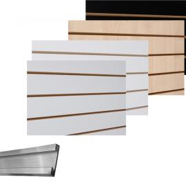 Slatwall Sheets and Accessories
