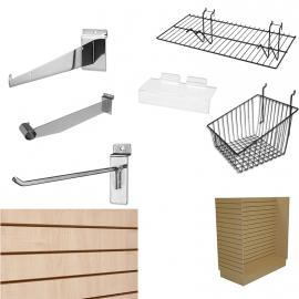 Slatwall Fixtures and Accessories