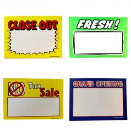 Writable Showcard Packs